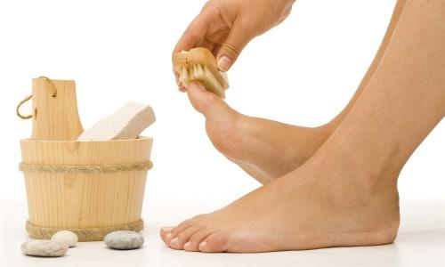 Косметические процедуры для ног