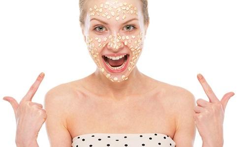 Использование овсянки в масках для лица