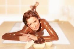 Горячее обертывание шоколадом