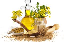 Льняное масло для увеличения бюста