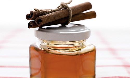 Мед и корица для маски