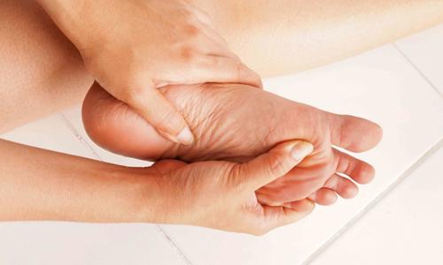 Сухие мозоли на пальцах ноги