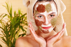 Травяная маска для лица