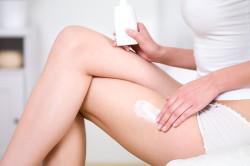 Увлажнение кожи после депиляции