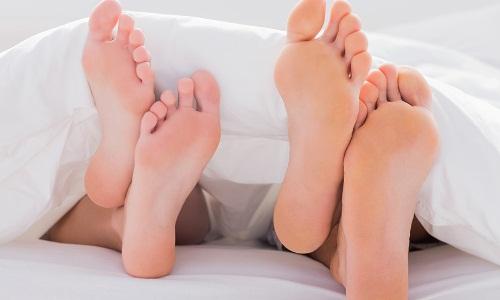 Проблема образования мозолей на пальцах ног
