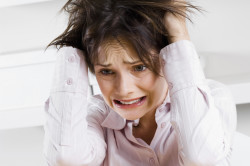 Регулярный стресс - причина появления прыщей