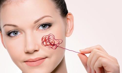 Проблемы с кожей лица при розацеа