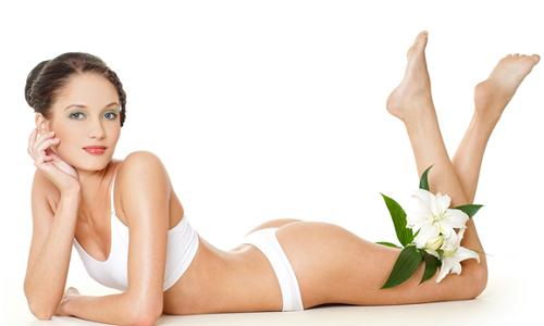Гладкая и красивая кожа тела после эпиляции