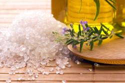 Морская соль - компонент скраба для тела