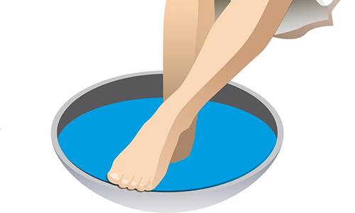 Оздороавливающие ванны для ног