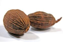 Мускутный орех для приготовления маски