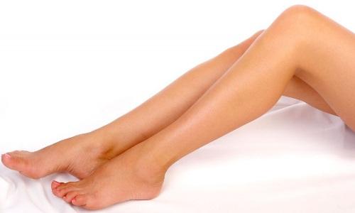 Гладкие ножки после эпиляции