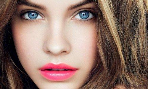 Красивое лицо без морщин