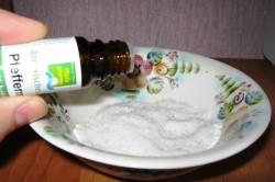 Приготовление скраба на основе соли