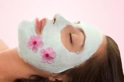 Питательные маски с фиалкой