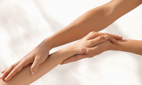 Руки после депиляции