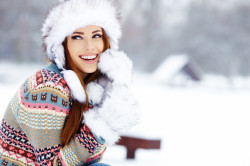 Зимнее время - причина сухости кожи