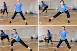Комплекс упражнений при целлюлите