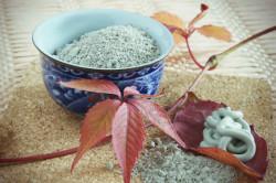 Голубая глина для приготовления маски от целлюлита