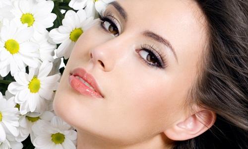 Чистая и ухоженная кожа лица после чистки