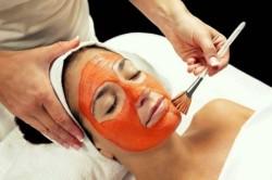 Морковная маска для кожи лица