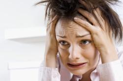 Стрессы - причина появления морщин