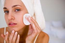 Очищение лица перед массажем