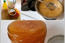 Приготовление пасты из сахара и лимонного сока