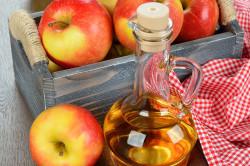 Яблочный уксус для обертывания ног