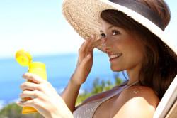 Защита кожи лица от воздействия солнца